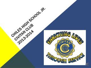 Chiles High School Jr. Civitan Club 2013-2014