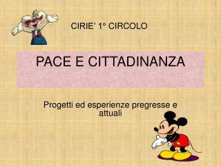 PACE E CITTADINANZA