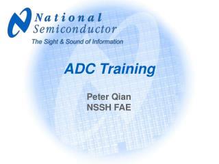 ADC Training