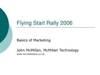 Flying Start Rally 2006