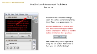 Student Learning Assessment: An Interactive Exploration