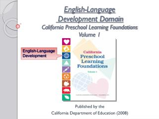 English-Language  Development Domain California Preschool Learning Foundations Volume 1