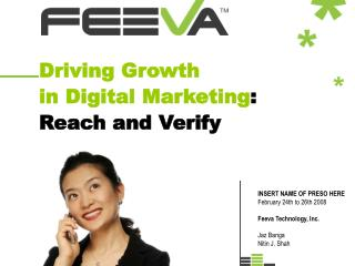 Driving Growth in Digital Marketing : Reach and Verify