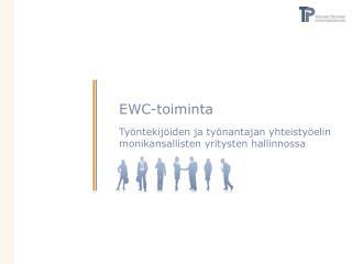 EWC-toiminta