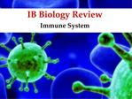 IB Biology Review
