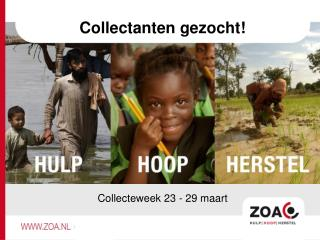 Collectanten gezocht !