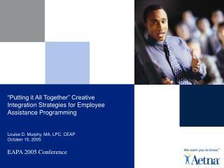 EAPA 2005 Conference