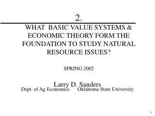 Larry D. Sanders
