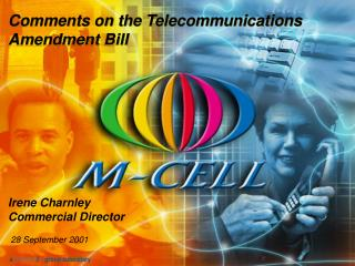 Irene Charnley Commercial Director 28 September 2001