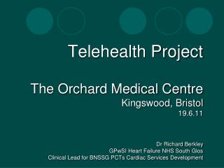 Telehealth Project