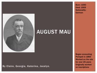 August Mau