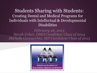 The American Academy of Pediatrics  Oral Health Initiative