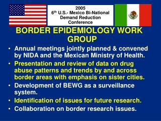 BORDER EPIDEMIOLOGY WORK GROUP