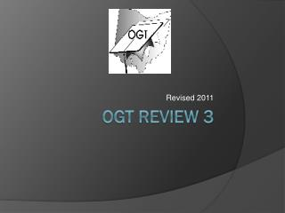 OGT Review 3