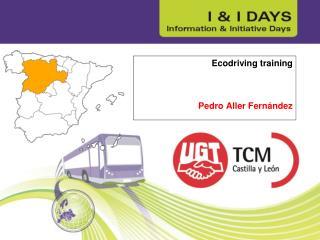 Ecodriving training Pedro Aller Fernández