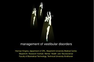 management of vestibular disorders