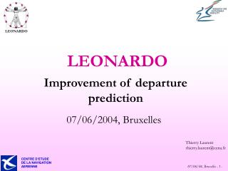 Improvement of departure prediction