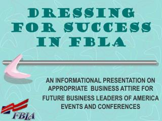 Dressing for Success in FBLA