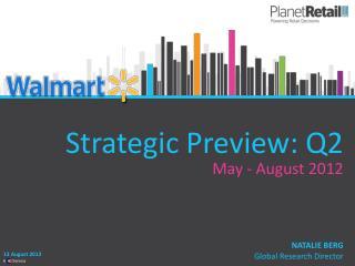 Strategic Preview: Q2