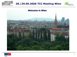 Welcome in Wien