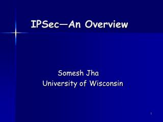 IPSec An Overview