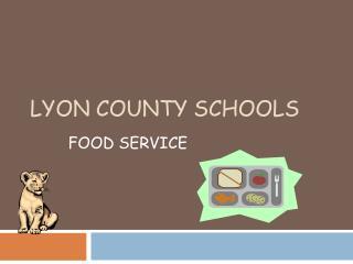 LYON COUNTY SCHOOLS