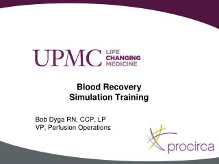 Blood Recovery   Simulation Training