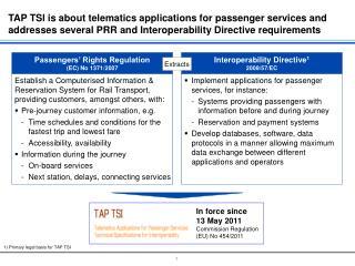 Establish a Computerised Information & Reservation System for Rail Transport,