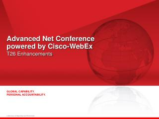 Advanced Net Conference  powered by Cisco-WebEx