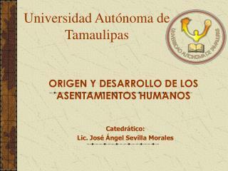 Universidad Aut�noma de Tamaulipas