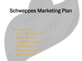 Schweppes Marketing Plan