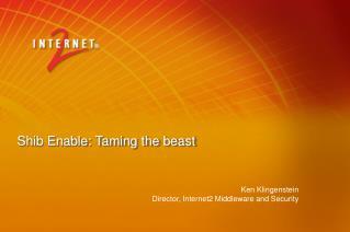 Shib Enable: Taming the beast