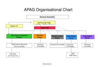 APAG Organisational Chart