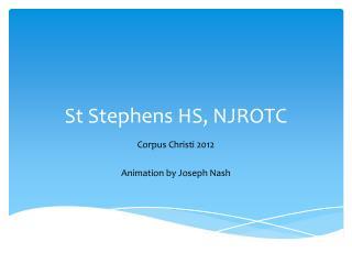 St Stephens HS, NJROTC