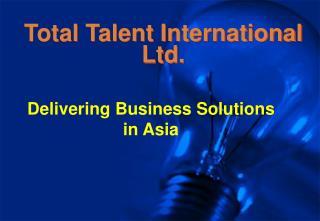 Total Talent International Ltd.