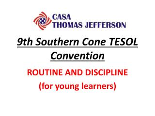 9th Southern Cone TESOL  Convention
