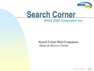 Search Corner