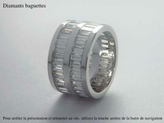 Diamants baguettes