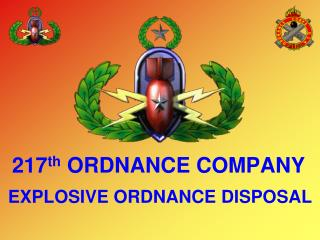 217th ORDNANCE COMPANY
