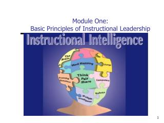 Module One: Basic Principles of Instructional Leadership