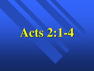 Acts 2:1-4