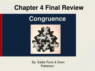 Chapter 4 Final Review