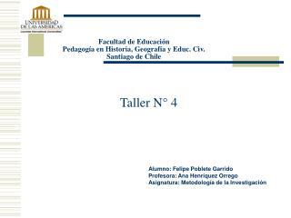 Taller N° 4