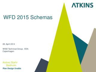 WFD 2015 Schemas