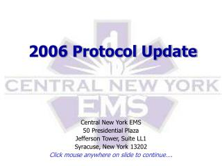 2006 Protocol Update