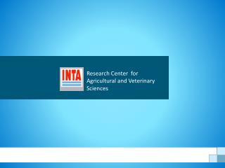 Research Center  for Agricultural and Veterinary Sciences