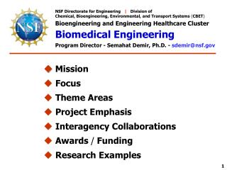 NSF Directorate for Engineering    |    Division of