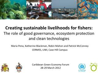 Caribbean Green Economy Forum 28-29 March 2012