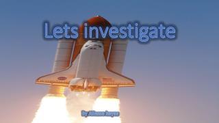 Lets investigate