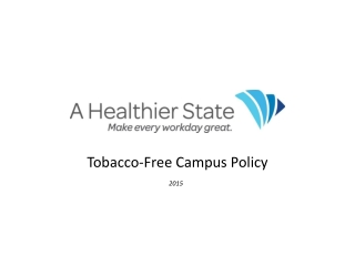 Tobacco-Free Campuses: Tobacco Cessation Programs at Work
